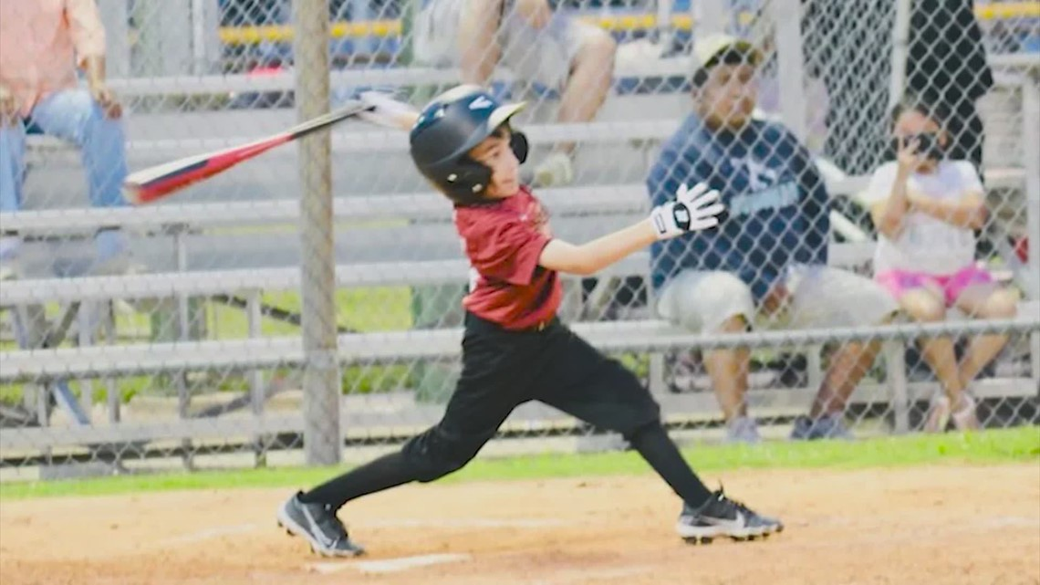 Pee Wee little leaguer with rare bone disorder strikes out all his doubters