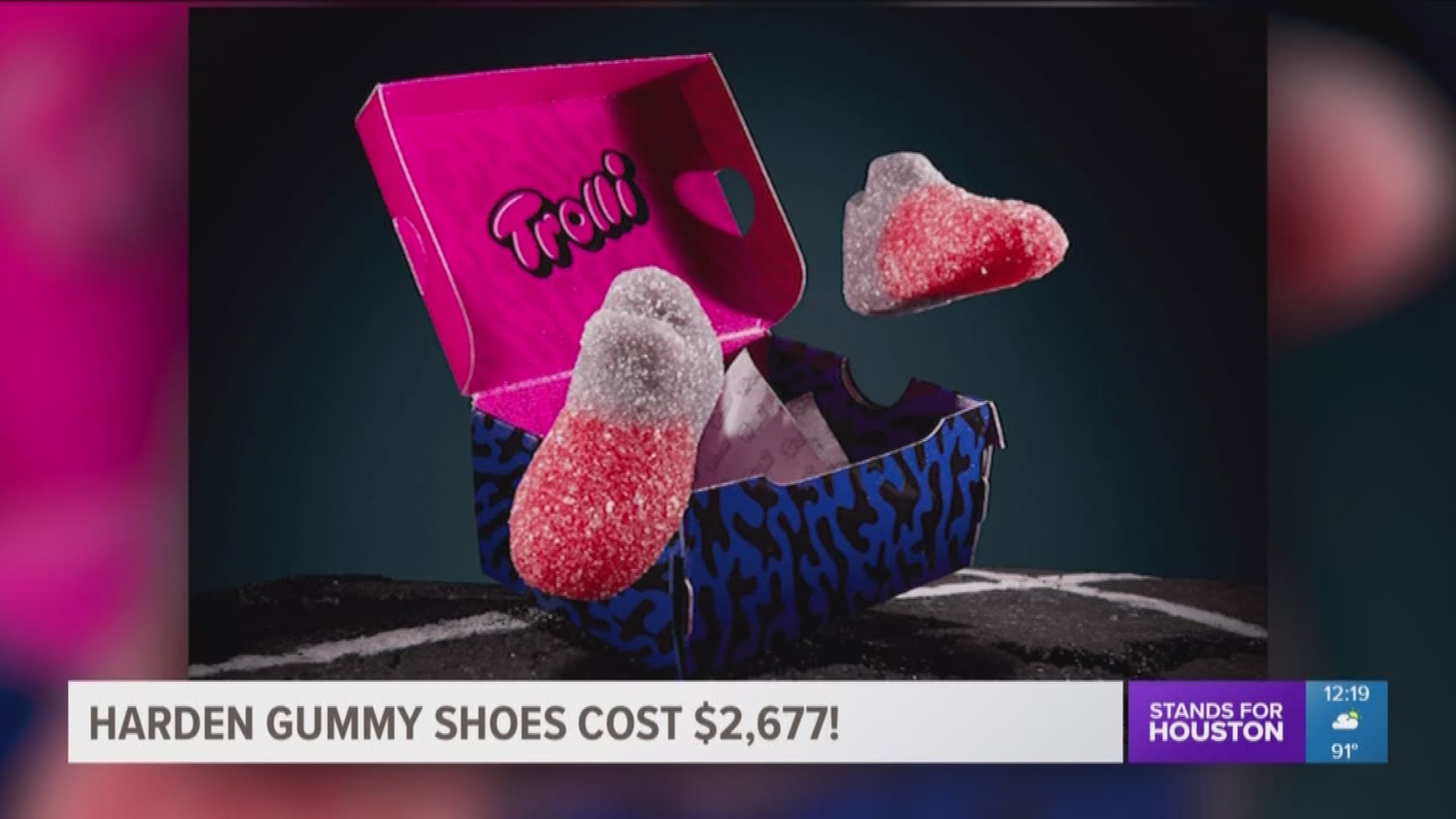 sized Harden gummy shoes   khou