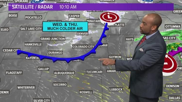Houston Forecast: The rain will fade as Monday rolls on
