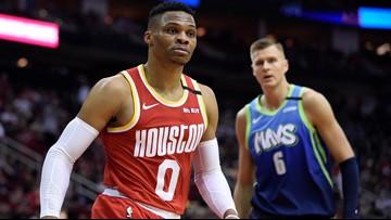 Harden has 35 as Rockets beat Mavericks 128-121