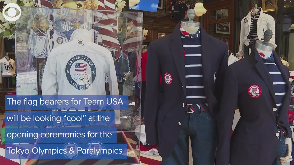 Team USA Olympic and Paralympic opening ceremonies uniform unveiled