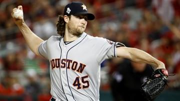 Yankees, Angels preparing for bidding war to land Astros pitcher Gerrit Cole, ESPN reports
