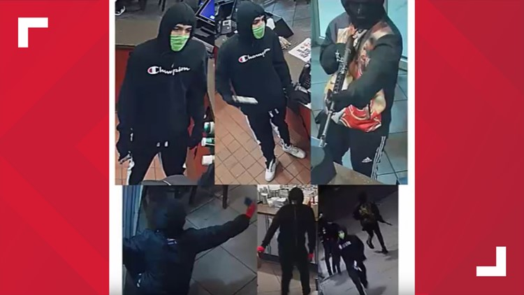 Wingstop robbery suspects
