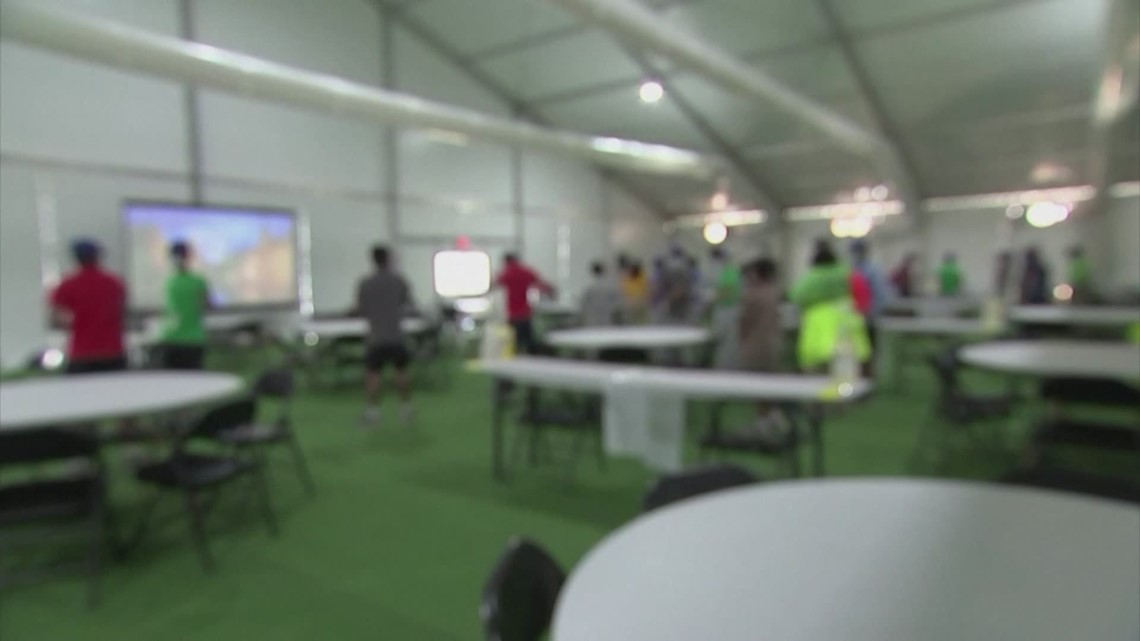 Humanitarian crisis on the border: Children being held in Harris County