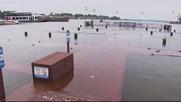 Problems persist across Houston area following wet weekend weather