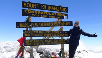 Man goes from cancer diagnosis to the top of Mount Kilimanjaro