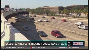 Galleria-area 610/I-69 reconstruction could last until 2023