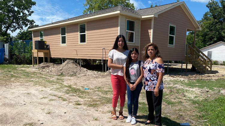 Family prepares to move into their new home Harris Co. built 3 years after Hurricane Harvey