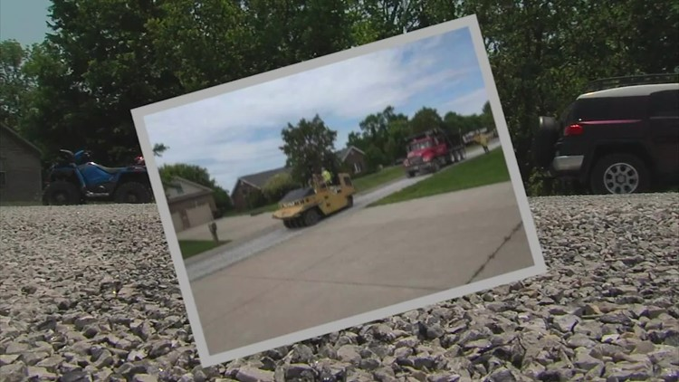 Some towns across the US are using a low-cost road repair method, and residents aren't happy