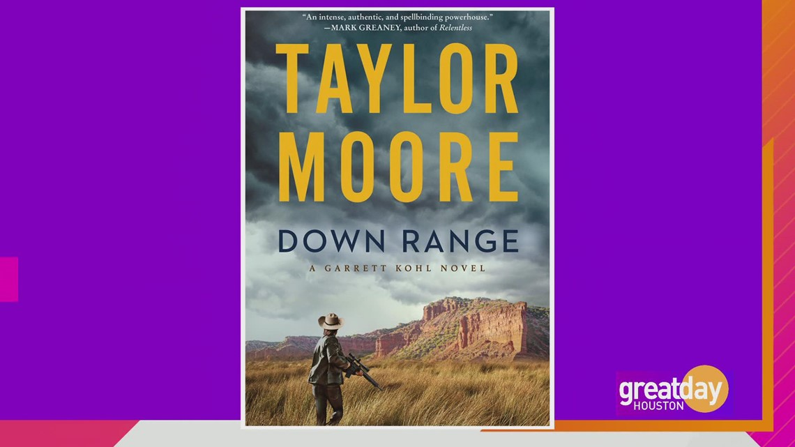Author Taylor Moore discusses his debut thriller,