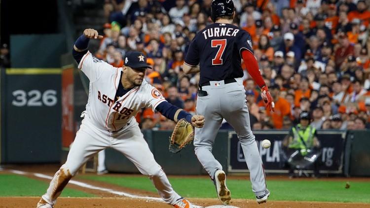 APTOPIX World Series Nationals Astros Baseball