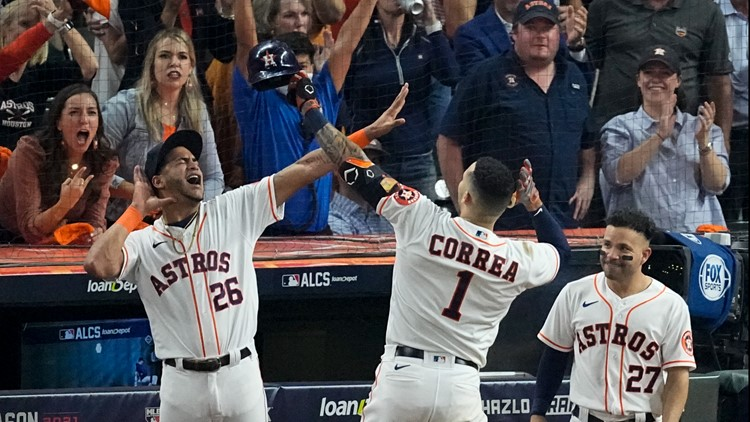 World Series playlists: These are the walk-up songs for the 2021 Houston Astros