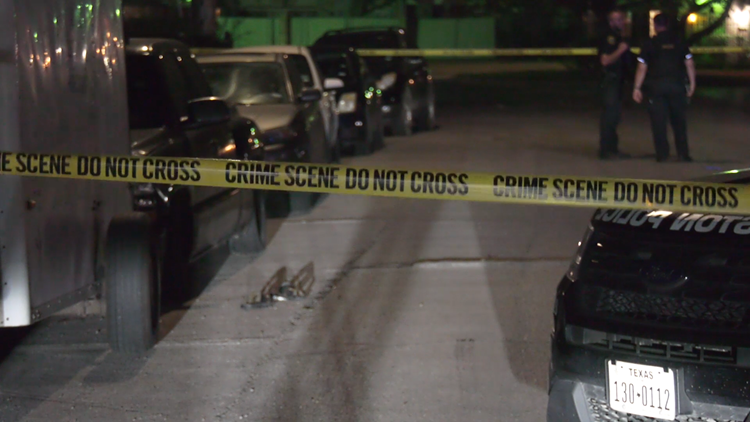 HPD looking for suspects in drive-by shooting that left two men injured in southeast Houston