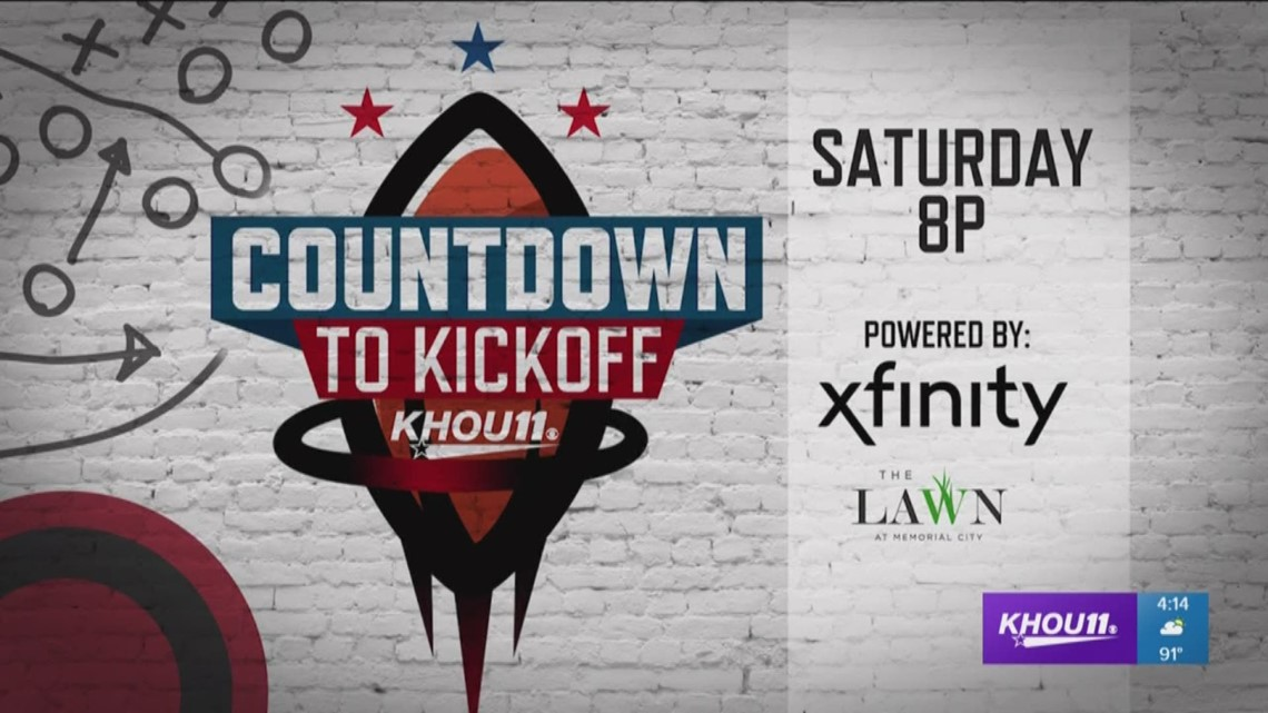 Wholesale KHOU 11 Sports to host Countdown to Kickoff at Memorial City Mall  supplier