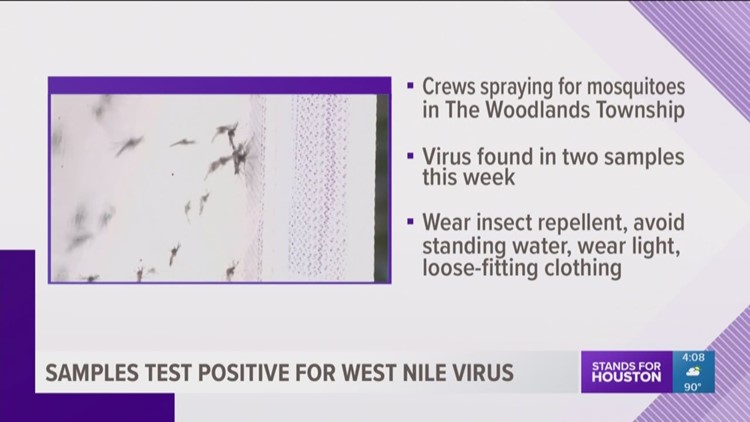 West Nile Virus Texas Zip Code Map.3 Mosquito Samples Test Positive For West Nile Virus In Harris Co