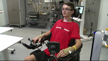 Katy gymnast's inner strength inspires others after spinal cord injury