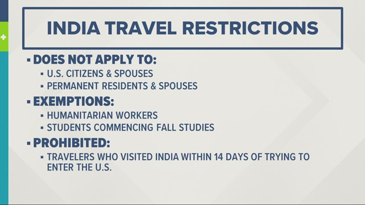 New travel India travel restrictions go into effect due to COVID-19 cases: here's who it affects