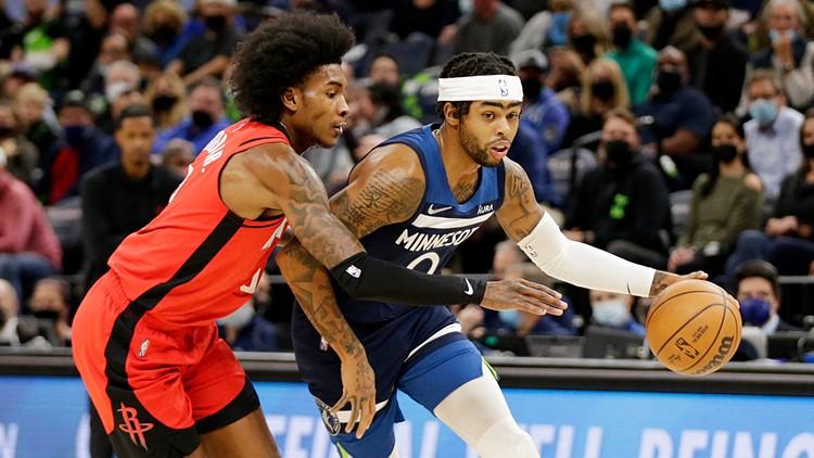 Rockets drop season-opener 124-106 to Timberwolves