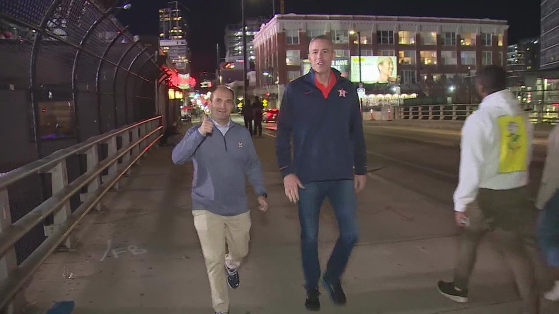Astros fans make trip to Boston for ALCS