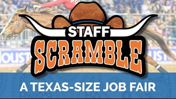 There's a 'Texas-size' job fair in Houston this weekend for the rodeo