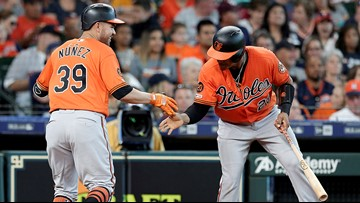 Núñez, Martin homer to lead Orioles over Astros 4-1