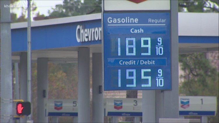 Gas Prices In Texas >> Cheapest Gas Prices Of 2018 Are In Texas Khou Com