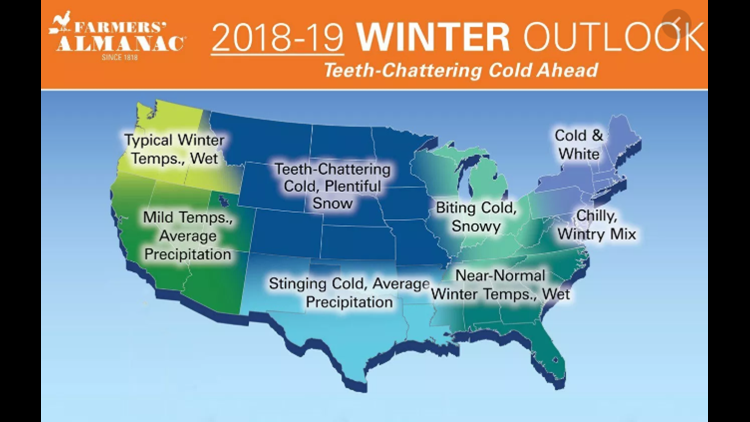 Last Year's Winter Outlook