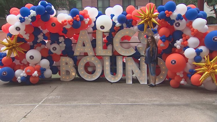 Astros fan excitement grows ahead of Game 1 of ALCS against Red Sox