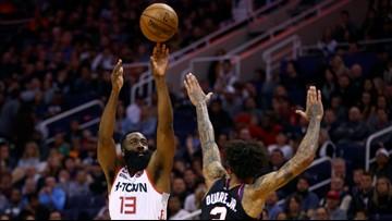 Harden racks up 47 points, Rockets beat Suns 139-125