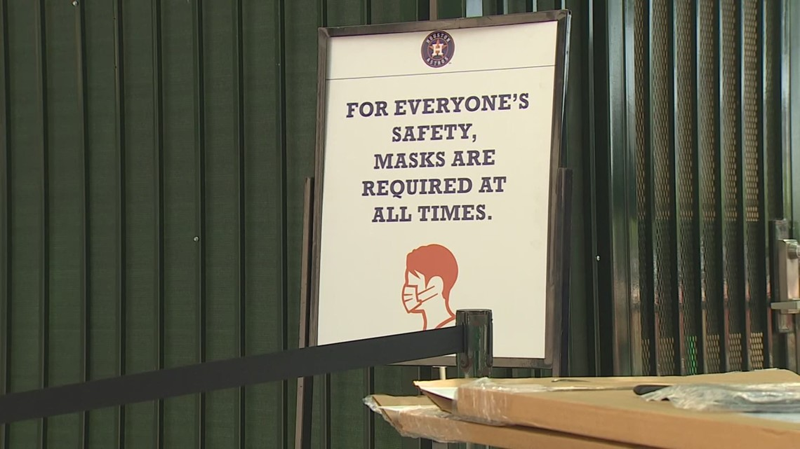 New safety protocols in place as Astros fans return to Minute Maid Park
