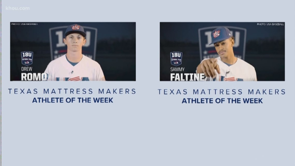 Athlete of the Week: Gold medalists Trey Faltine, Drew Romo