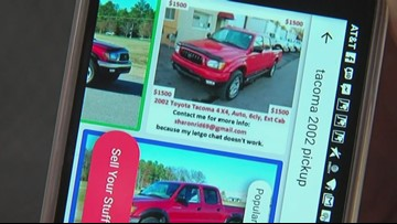 Buyer Beware: Craigslist car scam spreading to more apps