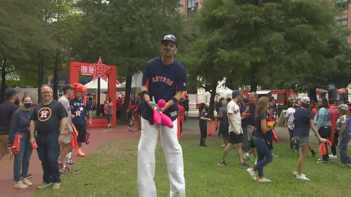 Astros Street Fest ahead of Game 1 of World Series