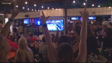 Texas Tech fans in Houston react to Red Raiders' loss in national title game