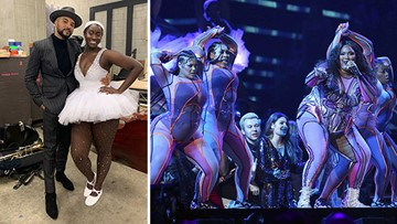 Lizzo features Fort Bend County ballerina in her Grammy performance