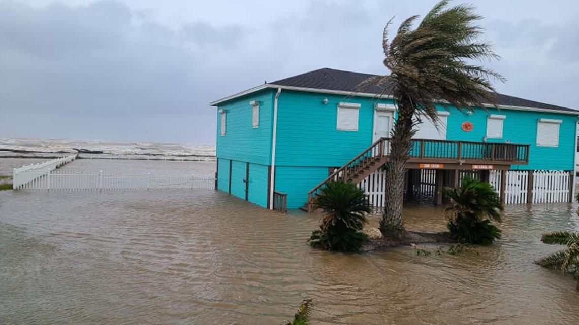 Coastal communities near Houston feel effects of Hanna | khou.com