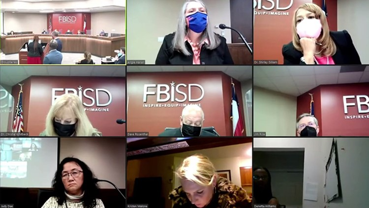 'Rude, reprehensible and indefensible': Fort Bend ISD trustees vote to denounce board member
