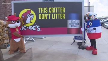 Totally Texas: Buc-ee's and TxDOT reminding travelers to keep road-ways clean
