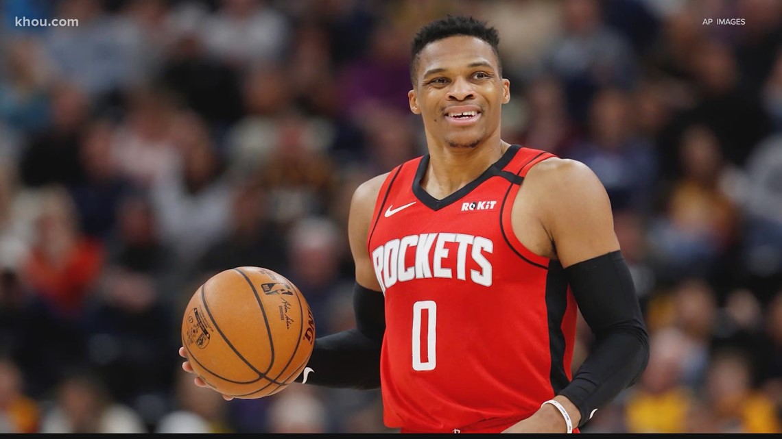 Houston Rockets star Russell Westbrook tests positive for COVID-19