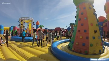 Big Bounce America Tour stops in Houston