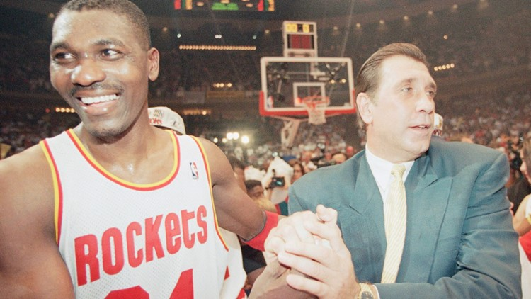 Congrats Rudy T!  Longtime Rockets player and coach is now a Hall of Famer