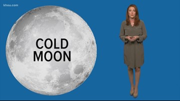Why is December's full moon known as the Cold Moon?