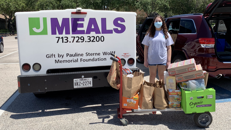Bellaire teen collects more than $2,000 in donations for Meals on Wheels through Bat Mitzvah community service project