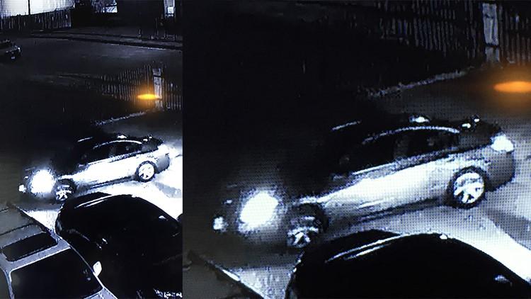 Surveillance photo car linked to fatal pursesnatching Brookglade Circle