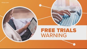 Connect the Dots | Are free trial really free?