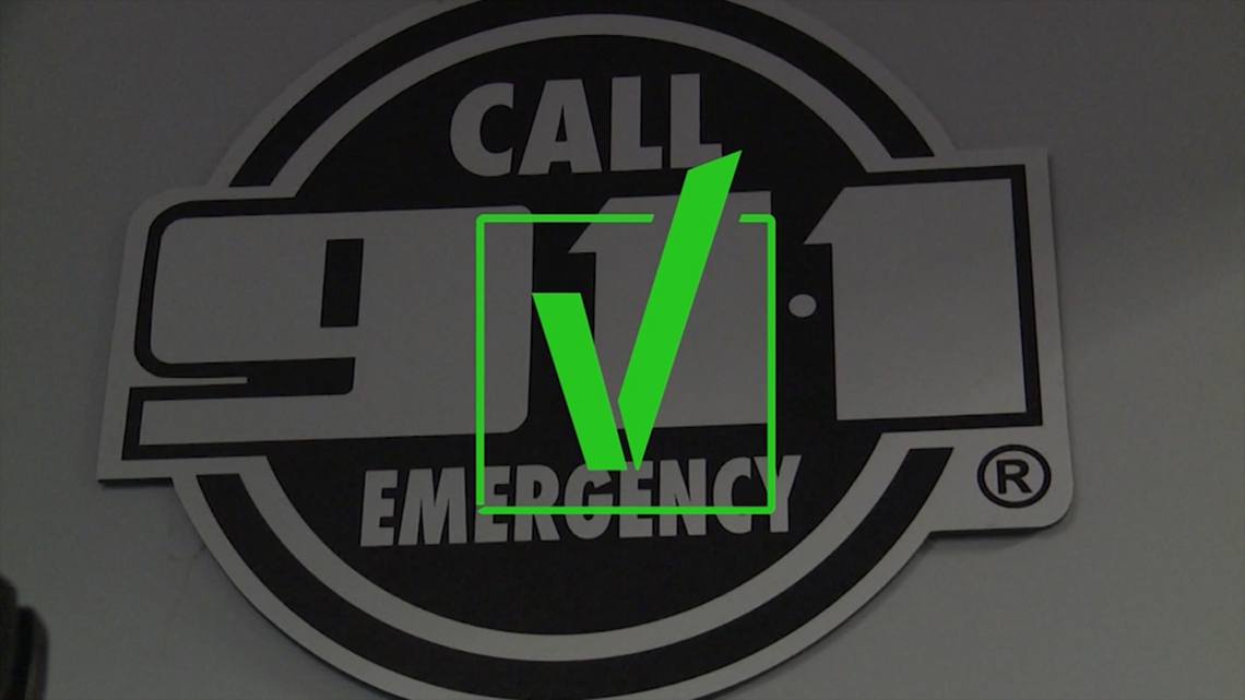 VERIFY: Can emergency responders locate people who call 911 from cellphones?