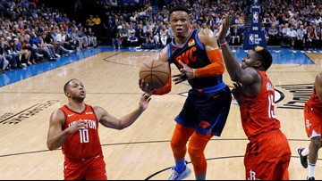 Rockets trade Chris Paul to Oklahoma City Thunder for Russell Westbrook