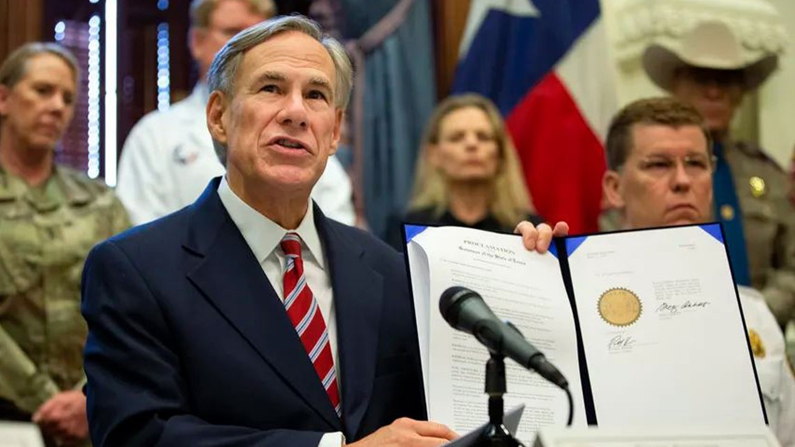 Coronavirus updates: At noon today, Gov. Abbott to announce plan to gradually re-open Texas - KHOU.com