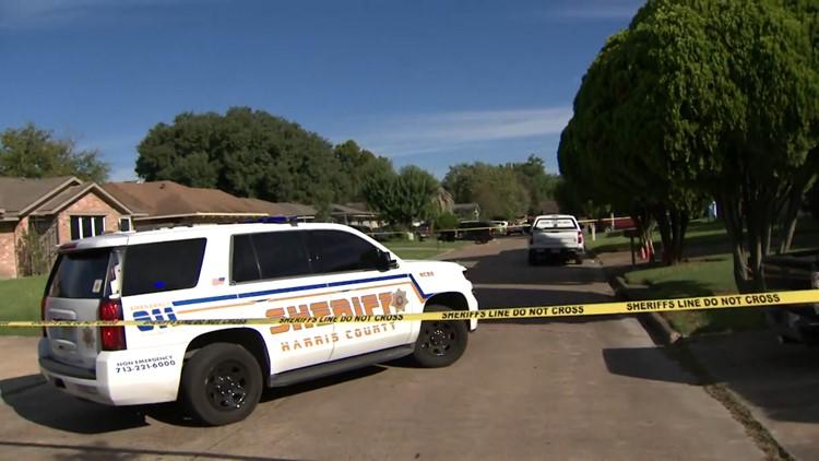 Man shot, killed ex-girlfriend's new boyfriend outside home in northeast Harris County, Sheriff Ed Gonzalez says