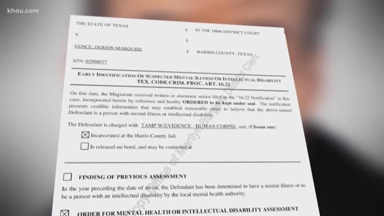 Court orders mental health assessment for Derion Vence